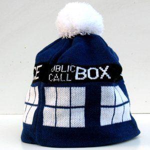 Doctor Who - Bobble Hat - Tardis - Unisex One Size